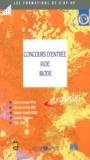 EDITIONS LAMARRE - Concours d'entrée IADE, IBODE. - Sujets et corrigés 1998-2000.
