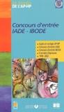 EDITIONS LAMARRE - Concours d'entrée IADE - IBODE - Sujets et corrigés 1999-2002.