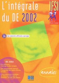 EDITIONS LAMARRE - L'intégrale du DE 2002 - 56 cas concrets officiels corrigés.