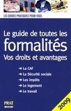 Editions Prat - Le guide de toutes les formalités.