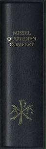 Editions Sainte-Madeleine - Missel quotidien complet bleu.