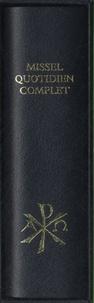 Editions Sainte-Madeleine - Missel quotidien complet noir.