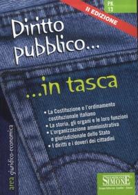 Edizioni Simone - Diritto pubblico - In tasca.