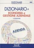 Edizioni Simone - Dizionario di economia e gestione aziendale.