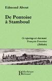 Edmond About - De Pontoise à Stamboul.