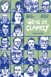 Edmond Baudoin et Mireille Hannon - Gens de Clamecy.