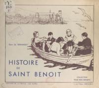 Edmond Bernardet et M. de Montfalcon - Histoire de saint Benoît.