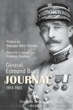 Edmond Buat - Journal du Général Edmond Buat 1914-1923.
