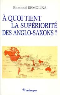 Histoiresdenlire.be ÁÀ quoi tient la supériorité des anglo-saxons ? Image