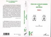 Edmond Destaing - Etude sur le dialecte berbere des beni-snous - volume 2.