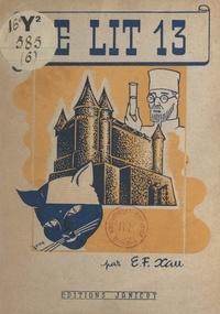Edmond-Fernand Xau - Le lit 13 - Conte fantastique.