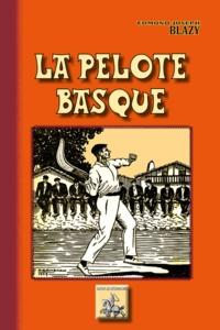 Edmond-Joseph Blazy - La pelote basque.