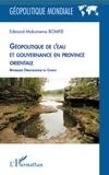 Edmond Mokuinema Bomfie - Géopolitique de l'eau et gouvernance en province orientale - République Démocratique du Congo.