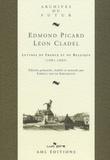Edmond Picard et Léon Cladel - Lettres de France et de Belgique (1881-1889).