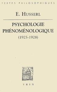 Goodtastepolice.fr Psychologie phénoménologique (1925-1928) Image