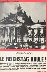 Edouard Calic - Le Reichstag brûle !.
