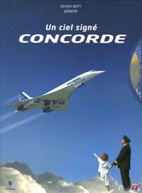 Edouard Chemel et Sabine Frantz - Un ciel signé Concorde. 1 DVD