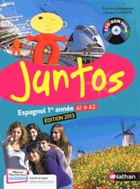 Edouard Clemente - Espagnol 1re année Juntos A1-A2. 1 DVD