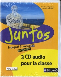 Edouard Clemente - Espagnol 2e année A2 Juntos. 3 CD audio