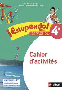 Edouard Clemente et Monique Laffite - Espagnol 4e A1+-A2 Estupendo! - Cahier d'activités.