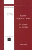 Edouard Dubout et Sébastien Touzé - Refonder les droits de l'homme : des critique aux pratiques - 12e colloque international du CDRH.