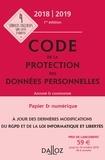 Edouard Geffray et Alexandra Guérin-François - Code de protection des données personnelles annoté & commenté.