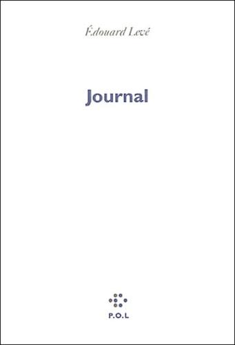 Edouard Levé - Journal.