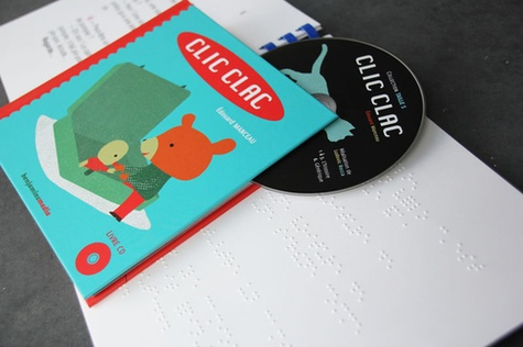 Clic Clac  avec 1 CD audio - Braille