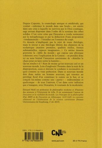 Descartes et la fabrique du monde. Le problème cosmologique de Copernic à Descartes