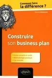 Edouard Richemond - Construire son business plan.