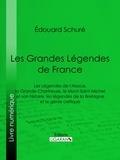 Edouard Schuré et  Ligaran - Les Grandes Légendes de France - Les Légendes de l'Alsace, la Grande-Chartreuse, le Mont-Saint-Michel et son histoire, les légendes de la Bretagne et le génie celtique.
