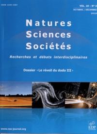 Jacques Weber - Natures Sciences Sociétés Volume 18 N° 4, Octo : Le réveil du dodo III.