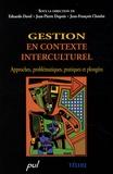 Eduardo Davel et Jean-Pierre Dupuis - Gestion en contexte interculturel - Approches, problématiques, pratiques et plongées. 1 Cédérom