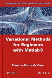 Variational Methods for Engineers with Matlab - Eduardo Souza de Cursi |
