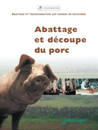 Educagri - Abattage et découpe du porc.