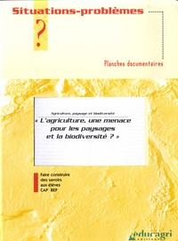 Jean-François Métral - L'agriculture, une menace pour les paysages et la biodiversité? - Planches documentaires.