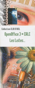 OpenOffice 3 Calc - Les listes.pdf