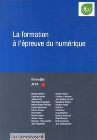 Paul Santelmann - Education permanente Hors-série AFPA 2013 : La formation à l'épreuve du numérique.