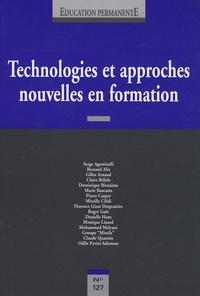 Serge Agostinelli et Mireille Cifali - Education permanente N° 127 : Technologies et approches nouvelles en formation.