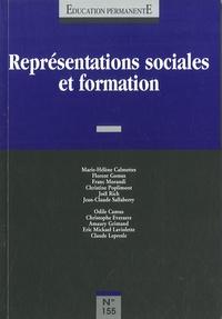 Jean-Claude Sallaberry - Education permanente N° 155, Juin 2003 : Représentations sociales et formation.