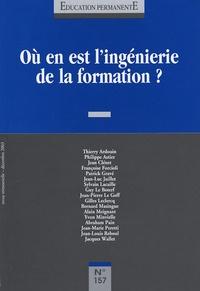 Thierry Ardouin - Education permanente N° 157, Décembre 200 : Ou en est l'ingénierie de l'information.