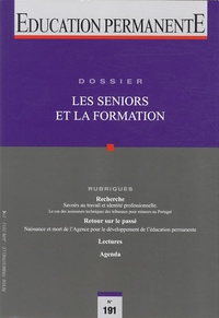 Michel Parlier - Education permanente N° 191, Juin 2012 : Les seniors et la formation.