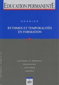 Pascal Roquet - Education permanente N° 217, décembre 201 : Rythmes et temporalités en formation.