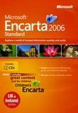 Microsoft - Encarta 2006 Standard - 2 CD-ROM, édition en anglais.