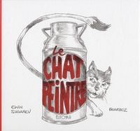 Edvin Sugarev et  Bearboz - Le chat peintre.