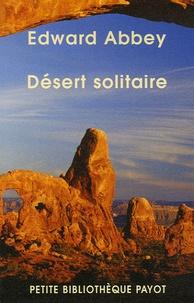 Téléchargez des livres epub pour kobo Désert solitaire 9782228900959