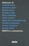 Edward Bond et Marion Aubert - Inédits et commentaires.