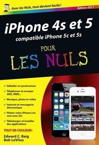 Edward C. Baig et Bob LeVitus - iPhone 4s et 5 pour les nuls - Edition iOS7.