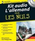 Edward Swick et Jean-Philippe Riby - Kit audio l'allemand pour les nuls. 3 CD audio