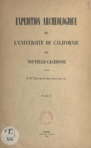 Edward Winslow Gifford et Dick Shutler - Expédition archéologique de l'Université de Californie en Nouvelle-Calédonie.